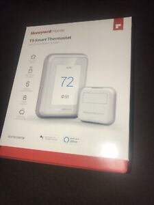 Honeywell T9 WIFI Smart Thermostat +1 Smart Room Sensor Touchscreen new sealed