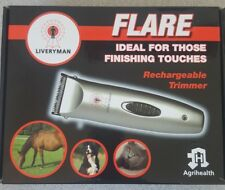 Liveryman Rechargeable Flare Horse Trimmers Cordless Quiet Clipper