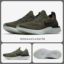 Nike Epic React Flyknit Running Shoes UK 8.5, EU 43, US 9.5, AQ0067-300 Cargo