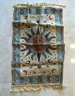 Vintage Rug Blanket Tapestry Zodiac Celestial Sun Made in Belgium