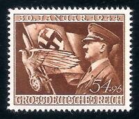 DR Nazi 3rd Reich Rare WW2 Stamp Hitler Eagle Sword Swastika Flag Fuhrer Uniform