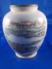 Alte Andenken Vase PÖRTSCHACH Wörthersee Österreich Kärnten Porzellan Souvenir