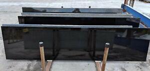 Absolute Black Granite Kitchen Worktops - 3 Length Bundle - Not Marble/Quartz