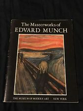 The Masterworks Of Edvard Munch 1979 Museum Of Modern Art New York The Scream