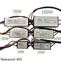 10W 20W 30W 50W 70W 100W IP65 Waterproof Adapter  Bulb LED Power Supply Driver