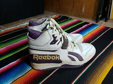 Vintage Reebok High Tops Signed By Byron Scott Lakers Size 12.5