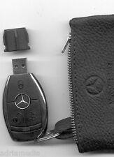 Mercedes media interface 2gb USB clave cuero bolso w212 w221 w207 w216 w204