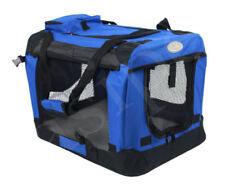 Sacs de transport bleues en tissu pour le transport des chiens