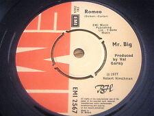 "MR BIG - ROMEO     7""  VINYL"