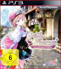 PS3 NEU/OVP  ATELIER RORONA - THE ALCHEMIST OF ARLAND *MANGA -ANIME GAME*