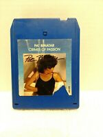 VTG 1980 Pat Benatar 8 track Crimes Of Passion Hit Me W Your Best Shot Untested