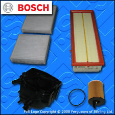 SERVICE KIT for PEUGEOT 207 1.6 HDI CC SW OIL AIR FUEL CABIN FILTER (06-09)