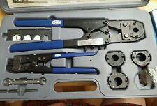 NEW Zurn QCRTMH Steel Multi-Head Copper Crimp Tool for Creating Watertight PEX