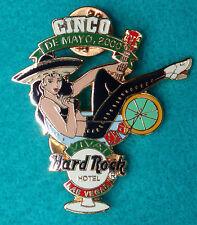 LAS VEGAS SEXY MEXICAN CINCO DE MAYO MARGARITA GLASS GIRL  Hard Rock Cafe PIN