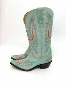 Vintage inspired handcrafted cowboy boots by Charlie Horse for Lucchese