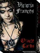 Gothic-VICTORIA FRANCES Oracle cards. DARK Immaginario Steampunk NUOVO e SIGILLATO