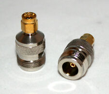 N female jack to SMA male plug RF coaxial adapter; Fast Shipping; US Seller