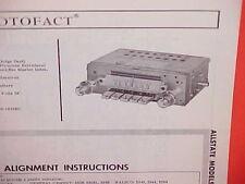 1965 PLYMOUTH BELVEDERE I II SATELLITE DODGE DART GT AM RADIO SERVICE MANUAL 65