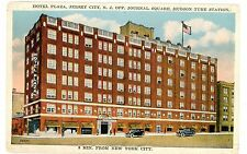 Jersey City NJ-HOTEL PLAZA AT JOURNAL SQUARE-Postcard