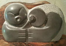 ST. GEORGE ISLAND alaska aleut vtg pacific stone totem pole eskimo tribal art