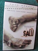 Saw (DVD, 2005, Full Screen)