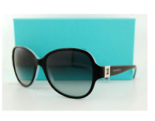 3754e3eb2b5 Brand New Tiffany   Co. Sunglasses 4046B 80553C Black and Blue Women