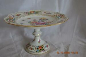 Carl Thieme Large Dresden Compote