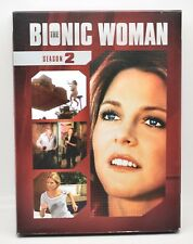 The Bionic Woman Season 2 DVD Boxed Set Great Condition