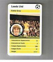 TOP TRUMPS old 1970s 1980s football card - VARIOUS
