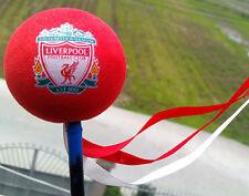 Cute Red Football club Antenna Ball Car Aerial Ball Antenna Topper Decor Ball