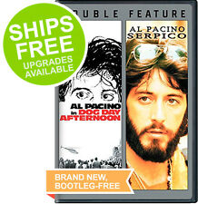 Serpico / Dog Day Afternoon Double Feature (DVD, 2014) NEW, Sealed, Al Pacino