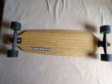 Cowtown bamboo longboard, Gullwing Trucks, Sector 9 wheels