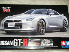 Rare ! Tamiya 1/24 Nissan GT-R with Clear Body Model Car Kit #92212