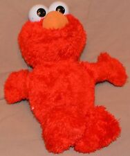 """11"""" Elmo Sesame Street Plush Dolls Toys Push The Belly And He Opens His Mouth"""