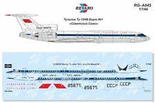 Revaro Decal Tupolev Tu-154M Soviet Union for Zvezda model kit 1/144