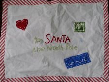 New Pottery Barn Baby Christmas To Santa North Pole Pillow Cover 12 X 16