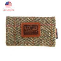 Tourbon Handmade Hunting Wallet Melton&Leather Business Credit Card Holder US