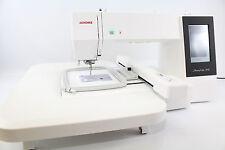 Janome MC  500 E  Stickmaschine mit 3 RAHMEN  u. Sticksoftware Embroidery Editor