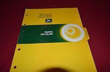 John Deere 165 Backhoe For 3PT Hitch Dealer's Parts Book Manual MISC