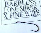 109BL long shank dry fly (Sierra-Japan) Fine Wire barbless Premium fly hooks d21