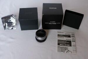 Fujifilm WCL-X100 Weitwinkelkonverter passt zu X100V X100F X100T X100S X100