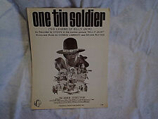 1969 ONE TIN SOLDIER THE LEGEND OF BILLY JACK SHEET MUSIC,Tom Laughlin,D.Taylor
