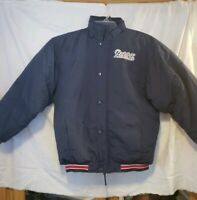 Vintage REEBOK New England Patriots NFL Jacket Coat Puff large