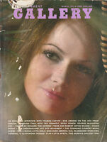 1970s VINTAGE GALLERY MENS MAGAZINE Pin-Ups / Interviews / Centrefold MARCH 1973
