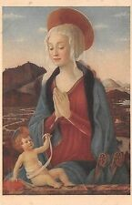BF35198 madonna col figlio beldovinettio paris louv painting art front/back scan