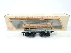 NOS IHC HO Scale Log Logging Train Flat Car Old Time Series