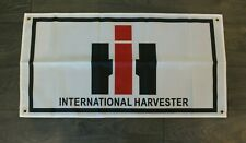 New International Harvester Banner Flag Agricultural Farm Equipment Tractor Barn