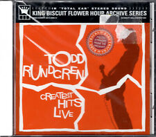 Todd Rundgren - Greatest Hits Live (2003 Cd) King Biscuit Hour Archive Series