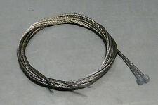 JR STROGHS TYPE Vintage 70's/80's BRAIDED Gear Cables 1320mm NOS BX74a R4