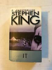 Book Paperback IT Stephen King 1987